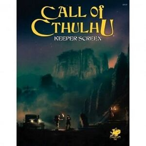 Call-of-Cthulhu-Role-Playing-Keeper-Screen-New-by-Chaosium-Inc