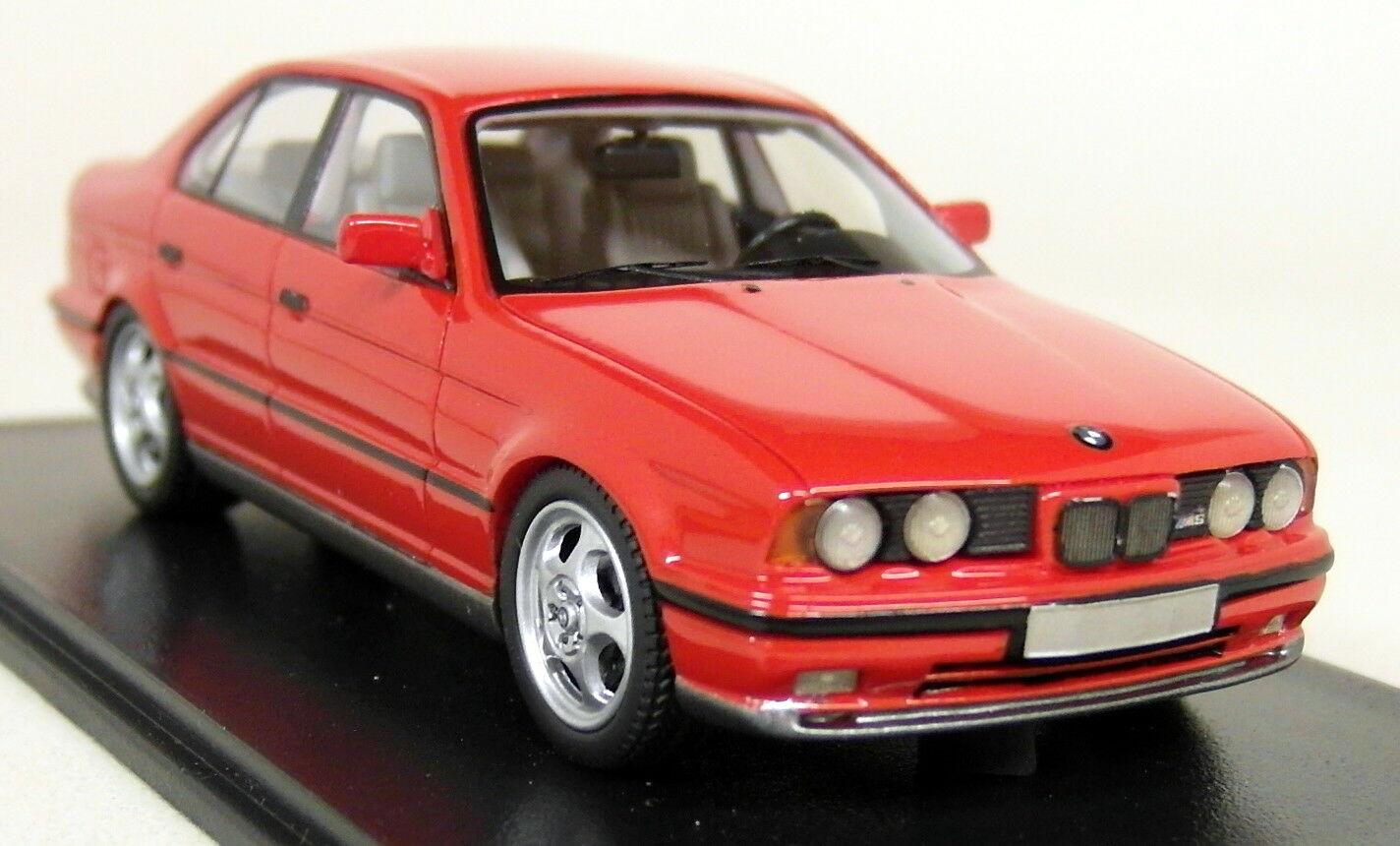 NEO 1 43 Scale - 43314 BMW M5 E34 3.8 Rouge Résine Voiture Modèle