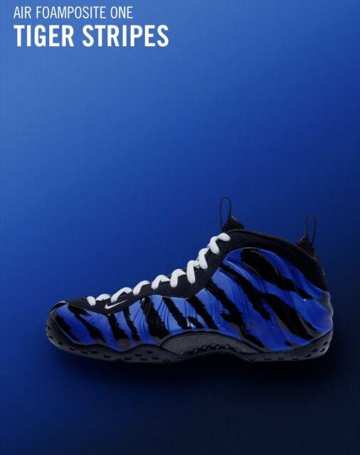 1f808279b1 Nike Air Foamposite One MT QS Size 12 Penny Hardaway Memphis Tigers ...