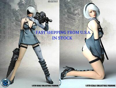 1//6 Nier Automata YoRHa No.2 Type B PHICEN Seamless Female Figure Full Set ❶USA❶