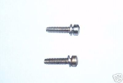 AED /& QFT Carbs Demon Holley Float Hinge Mounting Screws; Avenger Barry Grant