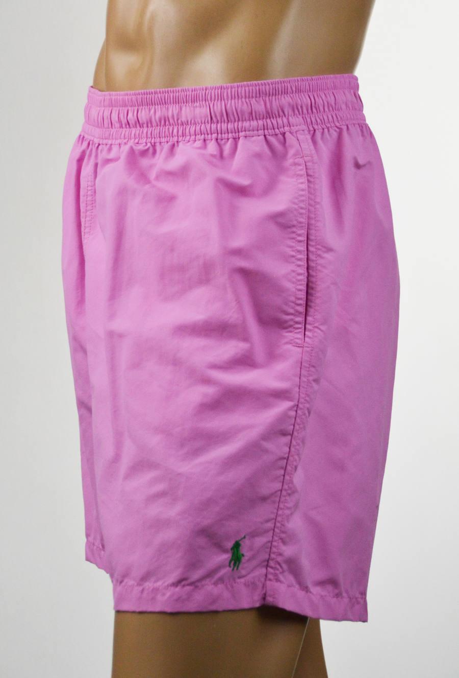 Ralph Lauren Men Pink Swim Short Trunks-XXLarge- NWT