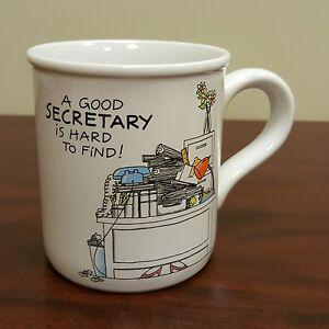 American greetings coffee mug gift good secretary hard to find image is loading american greetings coffee mug gift good secretary hard m4hsunfo