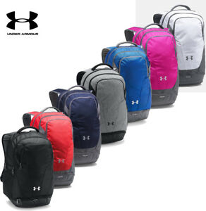 f927786f29 Under Armour Hustle 3.0 Team Backpack School Bag NEW Authentic