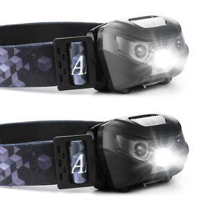 Head-Lamp-USB-Recharge-Sensor-Headlight-Waterproof-LED-Hiking-Flashlight-Battery