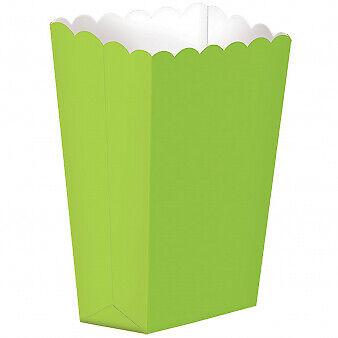 Candy Buffet Kiwi Verde Pequeño X 5 cajas de palomitas de maíz