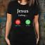 Jesus-Is-Calling-Christian-T-Shirt-For-Men-Women-Unisex-Tee-Funny-Gift-Christ miniature 2