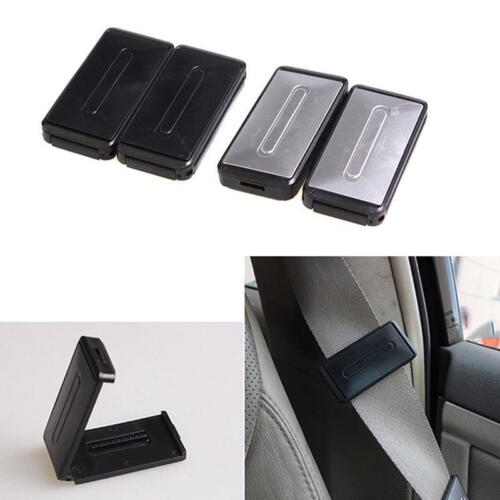 Car Safety Seat Belt Adjuster Stopper Clip Buckle Shoulder Relax Neck Comfort SU
