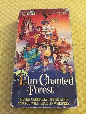 THE ELM-CHANTED FOREST ~ 1988 VHS Very Rare SP Video Quality  85 minutes