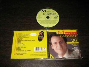 MANOLO ESCOBAR CD 20 COPLAS DE ORO( MI CARRO-RUMBERA-ARREMANGATE-TU ME JURASTE.)
