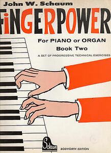 Image Is Loading Fingerpower For Piano Abd Organ Music Sheet Book