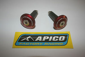 TRIALS-APICO-FACTORY-BAR-ENDS-IN-RED-GAS-GAS-BETA-SHERCO-MONT-AND-MORE