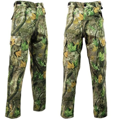 COUNTRY CAMO WATERPROOF TROUSERS MENS 30-44 HUNTING FISHING CARGO STORMKLOTH EK