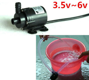 Dc 6v 5v Micro Mini Submersible Motor Water Pump F