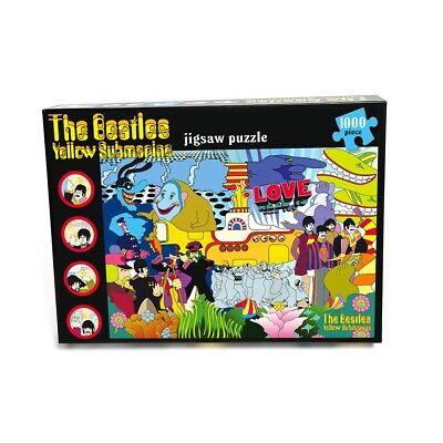 Beatles Jigsaw Puzzle Yellow Submarine 1000 Pieces