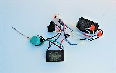 CAPACITOR//REV.SW.//POWER SWITCH HUNTER CEILING FAN NEW PARTS 2222 WIRING HARNESS