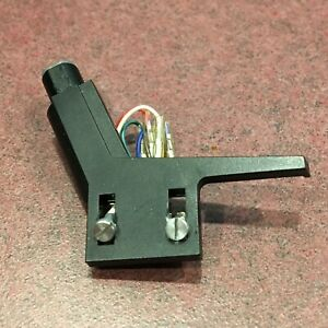 Turntable-Parts-Straight-Tone-Arm-Head-Shell-w-Hardware-and-Wires