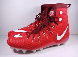 039c8b7815d8 Nike Size 18 Football Cleats Force Savage Elite TD University Red ...