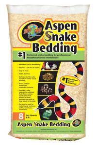 Zoo Med Aspen Snake Bedding Substrat fin - Quantité: 79,2l