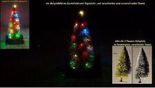 LED Weihnachtset-HO ,Tannenbaum grün  ,Lichterkette 4 farbig und warmweiß