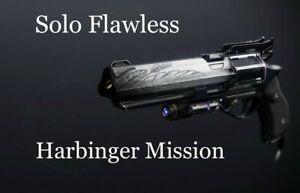 Alpha Hunter Triumph Solo Flawless Hawkmoon Harbinger (Xbox/CrossSave)
