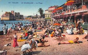 TOULON-el-Mourillon-La-playa