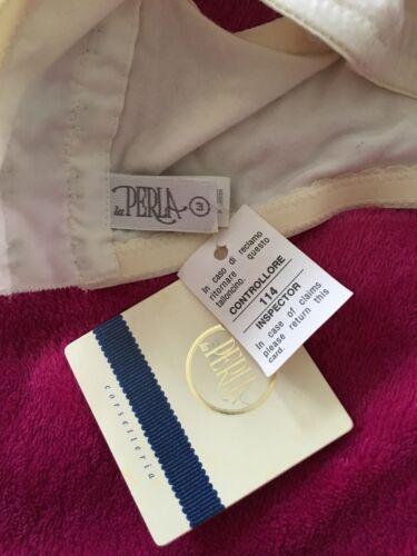 Blanc Perla Bnwt Dentelle Soutien Vintage Taille 3 La gorge En qEvzdadpw