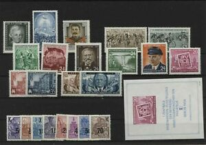 Germany-GDR-vintage-yearset-Yearset-1954-Mint-MNH-complete-Complete