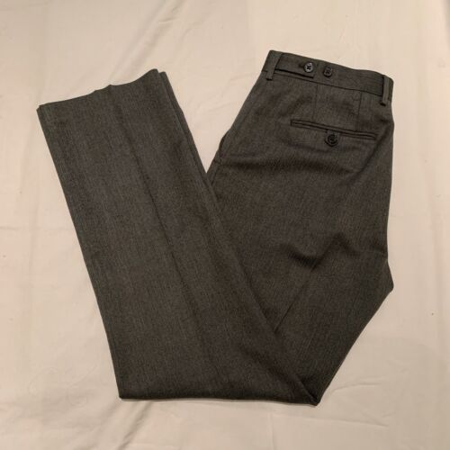 Express Gray Producer Dreess Pants, Size 30 x 32