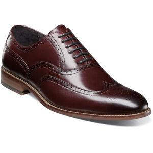Stacy Adams Dunstan Mens Shoes Oxford  Casual Dressy Burgundy Suede 25094-601