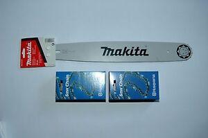"""35cm Schwert 3//8/""""PM 2 Ketten 52TG 1,1mm für Makita DUC303"""