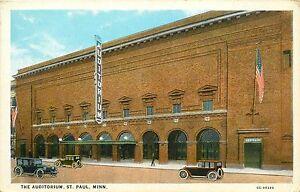 Auditorium-St-Paul-Minneapolis-Minnesota-MN-Postcard