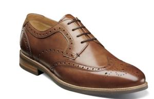 Cognac Florsheim Men/'s Mercantile Wingtip Dress Oxford