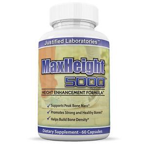 MaxHeight-5000-Height-Enhancement-Growthmax-Grow-Height-Taller-Supplement-Pills