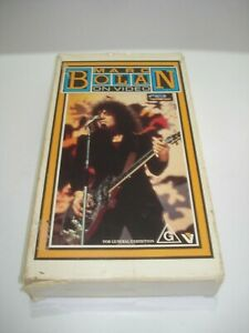 MARC-BOLAN-ON-VIDEO-VHS-VIDEO-TAPE-PAL-FREE-POSTAGE