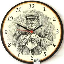 The Ferret Man Round Wall Clock ideal ferreting gift