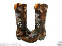 L 649-1 Old Gringo Bonnie Brown Brass Boots