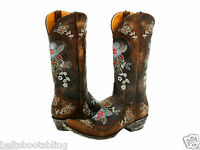 L 649-1 Old Gringo Bonnie Brown Brass Boots
