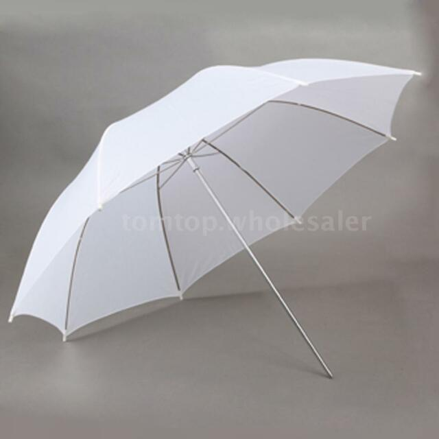 Photography Studio Video Light Flash Speedlight Soft Umbrella Translucent White