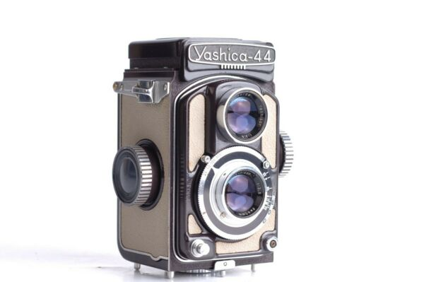 Charmant Yashica 44 Baby 4x4 Yashikor 3,5/ 60mm Brun