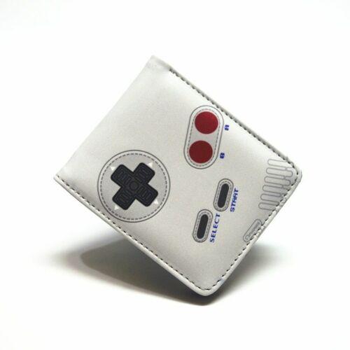 Playstation Game Wallet Boy And Girl Short Bifold Purse Cartoon Gift