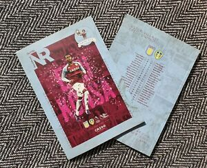 Aston-Villa-v-Leeds-PREMIER-LEAGUE-Programme-23-10-2020-READY-TO-DISPATCH