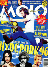 MOJO no. 32  July 1996 :  Pete Townshend / Hye Park / Dylan / Eric Clapton