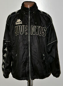 JUVENTUS-ITALY-1998-1999-TRAINING-FOOTBALL-JACKET-JERSEY-KAPPA-SIZE-L-ADULT