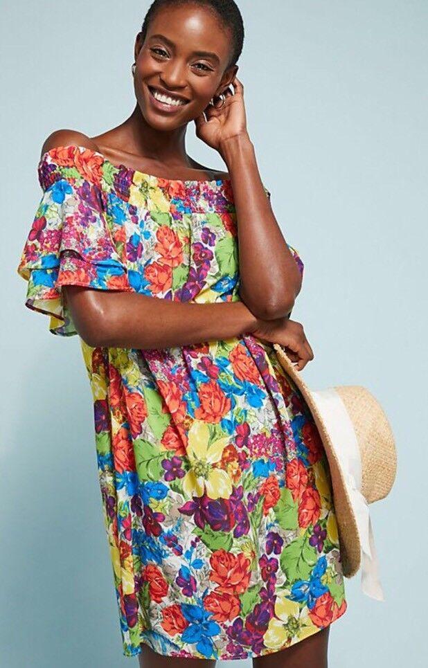 Allihop Off-The-Shoulder Cover-Up Dress Größe S NWT