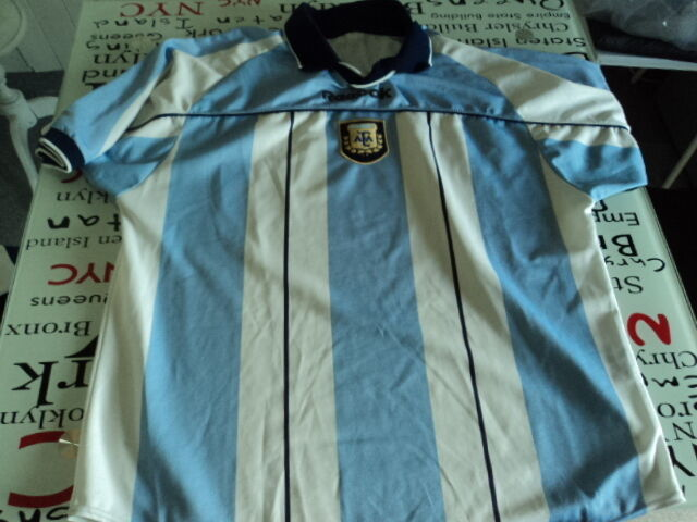Old soccer Jersey maglia camiseta argentoina 2000 Reebok Dimensione 2XL