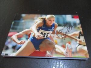 70401 ?????? Leichtathletik original signiertes Autogrammfoto