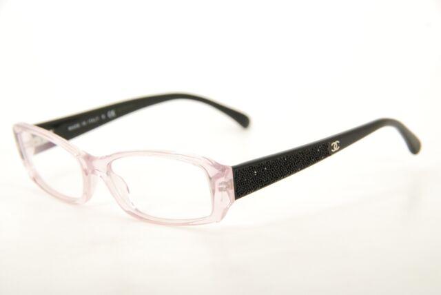 Authentic CHANEL 3170-b C.1180 Violet/black 54mm Eyeglasses Frames ...