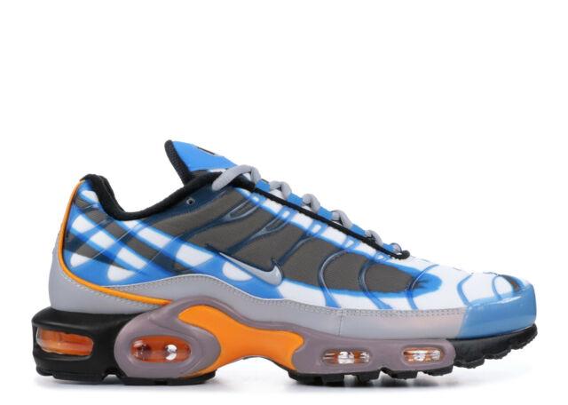 air max plus tn blue and orange