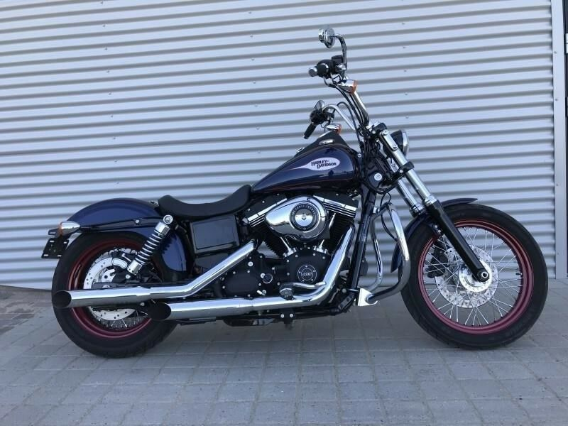 Harley-Davidson, FXDB Street Bob, ccm 1690
